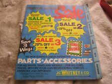 Vintage 1977 J.C. Whitney & Company Parts And Accessories Catalog Magazine 375B