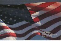 US First Day Ceremony Program Scott# #2475 – 1990  25c Plastic Flag stamp