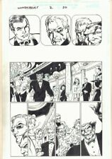 Avengers Two: Wonder Man & Beast #2 p.20 - Formal Party art by Mark Bagley