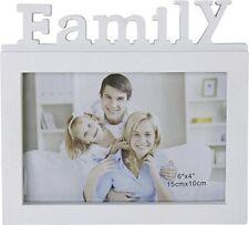 Fotorahmen für ein Foto Family weiss für 15 x 10 cm Foto 17 x 15,5 x 1,5 cm groß