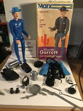 Marx Toys Cowboy Figure Of Sheriff Garrett Boxed With Accessories No 2085