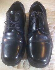 Nunn Bush Men's 84154 Black Slip Resistant Work Shoes Size 10.5M Leather Oxfords