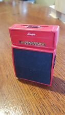 Lil Amp Arts OOAK 1/12 scale  Vintage Red Marshall half stack Amp
