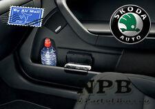 SKODA FABIA OCTAVIA YETI RAPID Bin for door panel black Genuine accessories