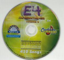 CHARTBUSTER KARAOKE ESSENTIAL 450 VOLUME 4 ES450 COLLECTOR'S EDITION NEO+G E4