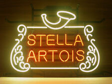 "Stella Artois Belgian Lage Neon Sign Beer Bar Pub Mancave Garage Sign17""X14""Z276"