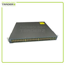 Cisco 3560 WS-C3560-24PS-S Layer-3 PoE SWITCH For CCNA CCNP CCIE LABS 1 Year War