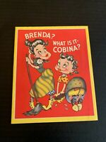 Vintage 1950's Get Well Soon Greeting Card Hillbilly Comical