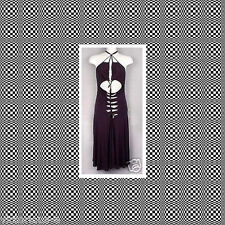 NEW VICTORIAS SECRET Sexy Black Iron Knot Front Dress - UK 14 16