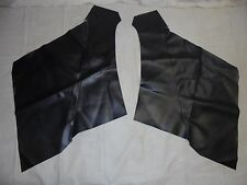 1965-1968 Mustang Coupe Quarter Trim Upholstery - Black