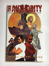 The Authority John Ridley Ben Oliver Hardcover w dustjacket MINT Wildstorm
