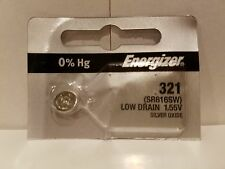 1 FRESH Energizer 321 SR616SW SR616 Silver Oxide Free Shipping Ships From USA