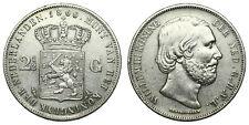 Netherlands - 2½ Gulden 1866 - Willem III
