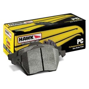 For McLaren MP4-12C 12-14 Hawk HB586Z.660 Performance Ceramic Rear Brake Pads