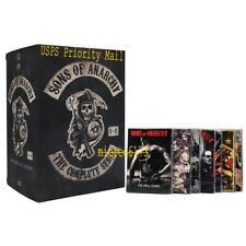 Sons of Anarchy Complete Series Seasons 1-7 (DVD 30 discs Free Shipping)
