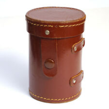 alter Leder-Objektivköcher braun * lens keeper * Köcher