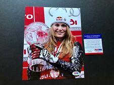 Lindsey Vonn Rare! signed autographed US Olympic 8x10 photo PSA/DNA coa