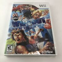 WipeOut WII New Nintendo Wii Brand New Factory Sealed game free shipping!