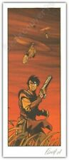 Ex-libris FLOCH  2001  Slhoka ex signé 11,5x28 cm