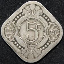 1913 | Netherlands 5 Cents | Cupro-Nickel | Coins | KM Coins