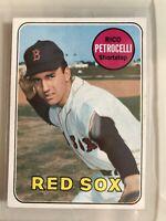 1969 Topps #215 - Rico Petrocelli - Boston Red Sox Original Baseball Card VG-EX