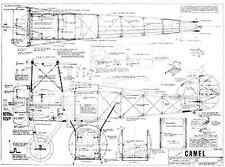 VK Sopwith Camel classic R/C SCALE model plans