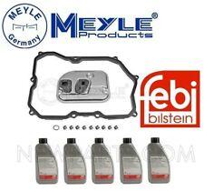 For VW CC Passat Tiguan Meyle Auto Trans Filter Kit w/ 5L Auto Trans Fluids