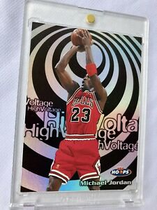 Michael Jordan High Voltage 1997-98 Hoops