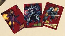 1993 Skybox Marvel 2099 3 Card Lot
