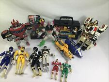 Vintage Saban Mighty Morphin Power Rangers Action Figure Lot Stickers