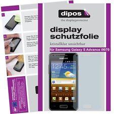 2x Dipos Crystalclear Displayschutzfolie für Samsung Galaxy S Advance i9070