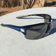 60a21e80812 UK Kentucky Wildcats Sunglasses Black Sports Rubber Ear Licensed NCAA Fan  Gear