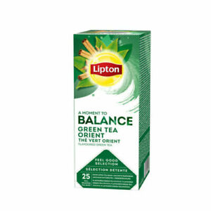 Lipton TCHAE Green Tea Orient 3 Boxes  Of 25 (75) Supplied Free UK Delivery