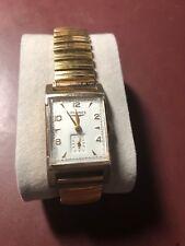 1950 Vintage LONGINES Dress Swiss Mens Watch 10K Gold filled, serviced..