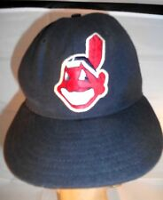 Cleveland Indians Ballcap Hat 100% Wool Size 7 New Era Diamond Collection Wahoo