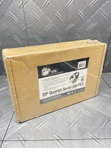 SIIG JJ-P04621-S7 DP Quartet Serial 550 PCI - New ✌️