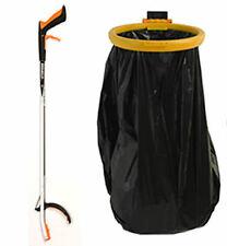 "Helping Hand Litter Picker 33""/850mm and Bag Hoop/Holder 14""/355mm diameter"