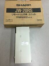 NEW IN BOX SHARP REMOTE I/O SLAVE MODULE JW-20RS