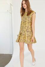 BNWT STELLA MCCARTNEY RUNWAY GOLD SNAKE PRINT SHIMMER PLEAT GISELLE DRESS £1995