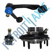 Ford F150 F250 Upper Control Arm & Lower Ball Joint 4WD Wheel Hub Bearing 7 Stud
