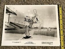 "1980's Disney ""How to Play Baseball"" Goofy 8""x10"" Publicity photo"