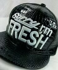Sorry I'm Fresh Snapback Hater Obey NBA Quality Faux Patent Leather Hip Hop Hat.
