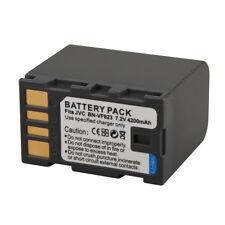 4200mAh BN-VF823/BN-VF815 Battery For JVC GZ-HD7 GZ-MG575 GR-D750 GZ-HD3 UK NEW