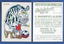 FIGURINA CALCIATORI PANINI 1994/95 - NUOVA/NEW N.162 MASCOTTE - JUVENTUS