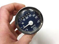 Contamiglia CEV Speedometer Tacho MPH 60mm NOS