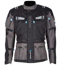 SPADA Lati2ude Waterproof Textile Motorcycle Jacket Black/anthracite X Large