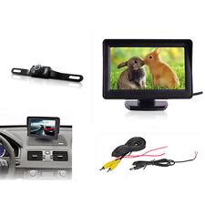 TFT LCD Displayer Screen Aerial Monitor on the Dashboard Waterproof Car Camera