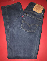Levis Vintage 501 Button Fly Selvedge Red Line Denim Levi Strauss Jeans