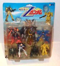 "Gundam Gashapon sized PVC vinyl Poseable Figure LOT 2""-3"" Asian (boot or KO?)"