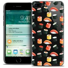 """Coque Crystal Gel Pour iPhone 7 Plus (5.5"""") Extra Fine Souple Foodie Sushi"""